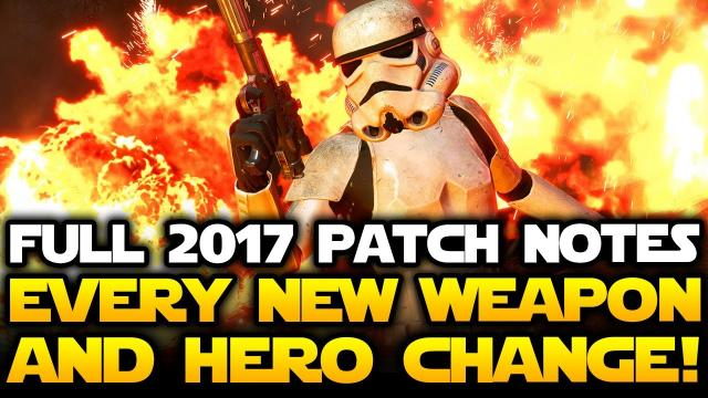 August DLC FULL PATCH NOTES! Clone Trooper Skins, Hero