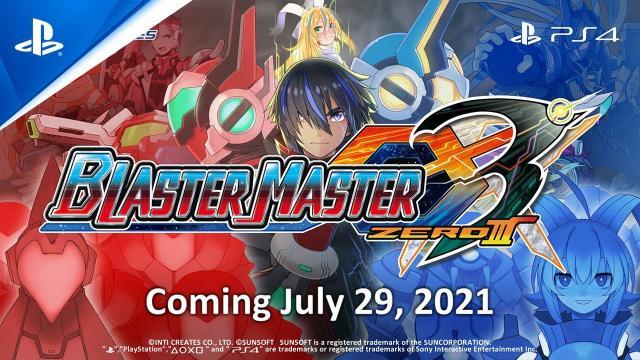 Blaster Master Zero 3 - Announcement Trailer | PS4