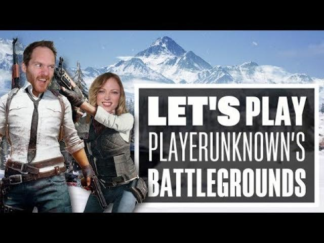 Let's Play PUBG Vikendi Gameplay with Aoife and Ian - THERE'S NO BUSINESS LIKE SNOW BUSINESS