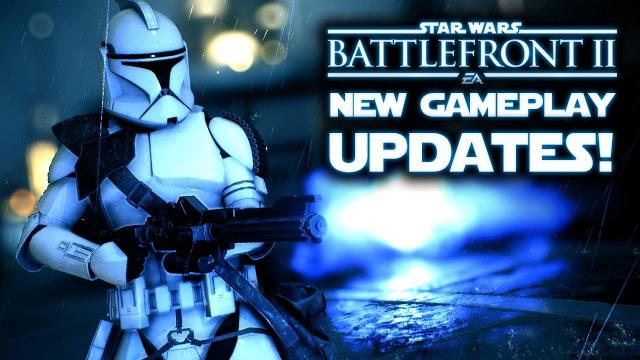 Star Wars Battlefront 2 - BIG UPDATE!  New Gameplay Changes! Obi-Wan and Clone Wars Teases?!