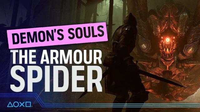 Demon's Souls - The Armour Spider!