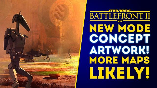 TONS OF NEW DETAILS & CONCEPT ART for Capital Supremacy Game Mode! - Star Wars Battlefront 2 Update