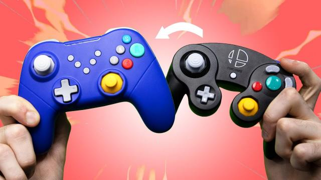 Why would you redesign the GameCube controller?