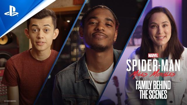 Marvel's Spider-Man: Miles Morales – Family Behind the Scenes | PS5, PS4