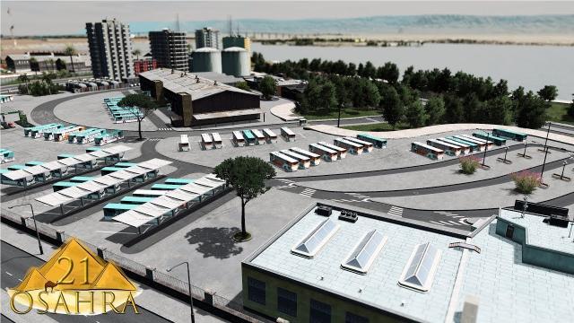 Cities Skylines: Osahra - Bus Depot #21