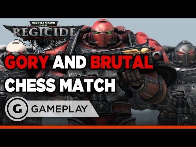 Warhammer 40k: Regicide - Brutal Chess Gameplay