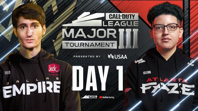 [Co-Stream] Call Of Duty League 2021 Season | Stage III Major Tournament | Day 1