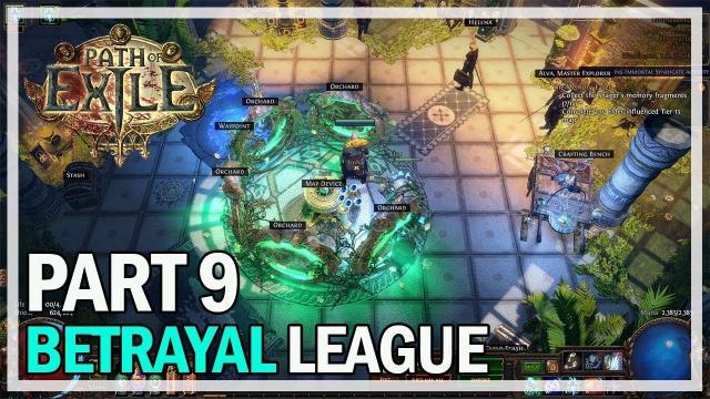 Path of Exile - Betrayal League Let's Play Part 9 - Unique Maps