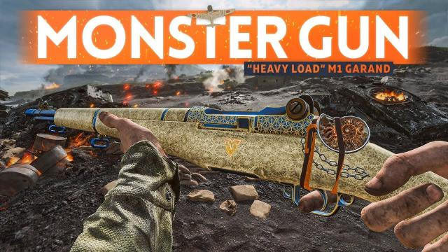 """""""HEAVY LOAD"""" M1 Garand Is A MONSTER Weapon ???? Battlefield 5 Pacific Gameplay"""