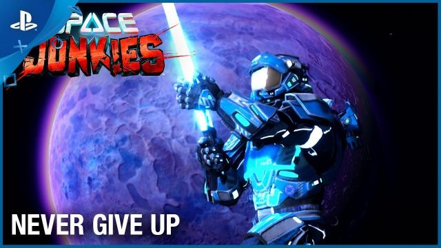 Space Junkies - Never Give Up Open-Beta | PS VR