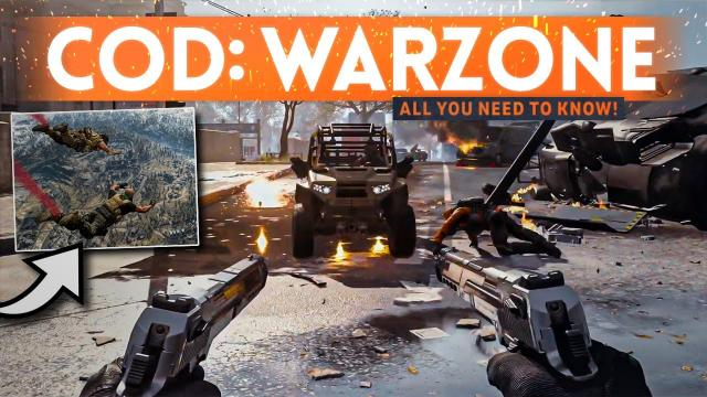 CALL OF DUTY WARZONE GAMEPLAY DETAILS! - Everything You Need To Know (Free To Play)