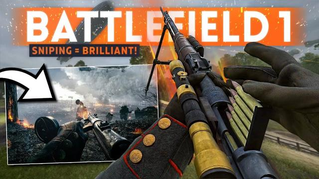 Playing BATTLEFIELD 1 in 2019 ???? When Sniping Was BRILLIANT!