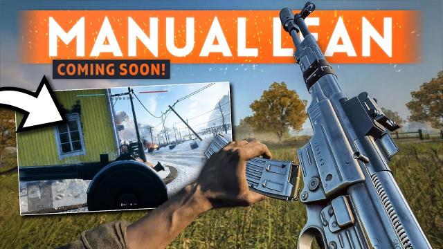 MANUAL LEANING Is Coming To Battlefield 5 ????