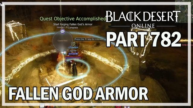 Fallen God Armor - Let's Play Part 782 - Black Desert Online