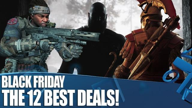 Black Friday On PS4 - 12 Of The Best Deals!