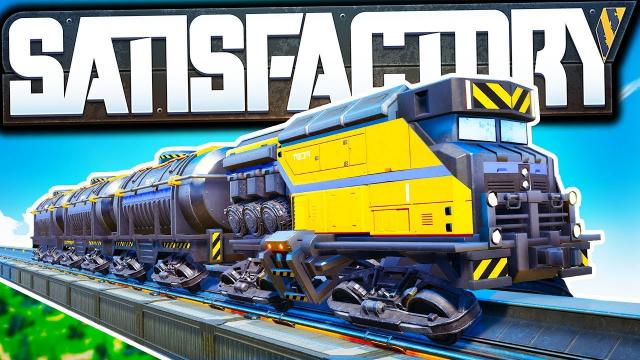 When did they add FLUID TRAINS?! - Satisfactory Early Access Gameplay Ep 21