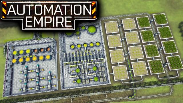 $1,000,000 Mega Farming Factory to Grow Grass? - Automation Empire Let's Play Ep 8