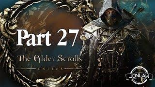 The Elder Scrolls Online Walkthrough - Part 27 STONEFALL SAVAGES - Gameplay&Commentary
