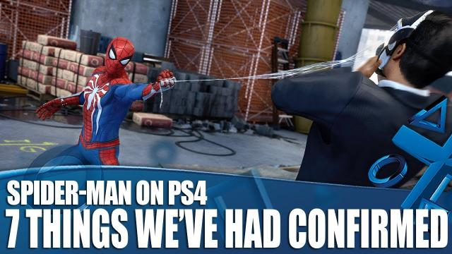 Spider-Man on PS4 - 7 Things We've Had Confirmed