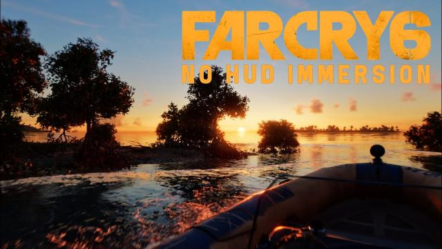 This is Far Cry 6 - RayTracing No HUD Immersive 4K Gameplay