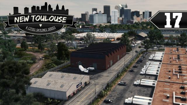 Huge Amazon Warehouse! - Cities Skylines: New Toulouse - Part 17 -