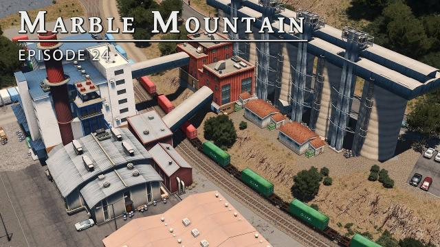 Riverside Train Line - Cities Skylines: Marble Mountain EP 24