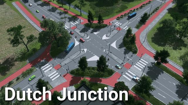 Cities: Skylines - Dutch Junction Design