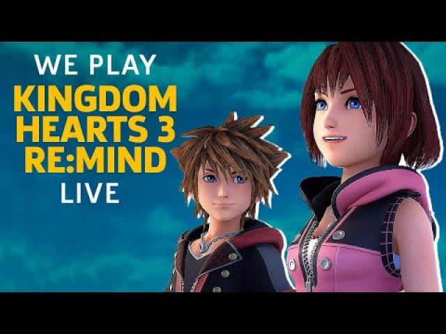 Kingdom Hearts 3 Re:Mind DLC Is Out On PS4