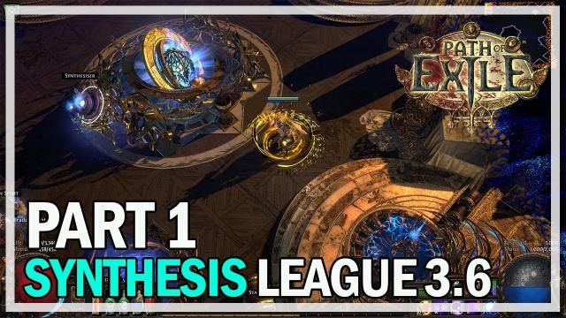 Path of Exile - Synthesis League Let's Play Part 1 - Essence Drain
