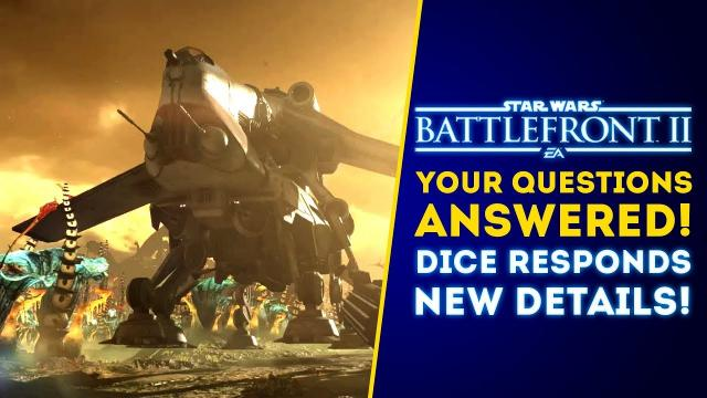 Your Questions Answered! Vehicles on Instant Action, October Event Dates! - Star Wars Battlefront 2