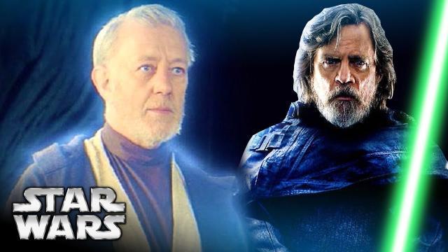 NEW LUKE SKYWALKER REVEAL! New Dark Robe Explained - Star Wars