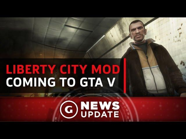 GTA 4's Liberty City Will Soon Be Playable within GTA 5 - GS News Update