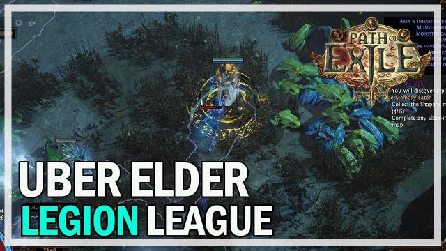 Path of Exile - Uber Elder Boss - Arc Traps Legion League