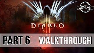 Diablo 3 Walkthrough - Part 6 CAVERN OF ARANEAE - Master Difficulty Gameplay&Commentary