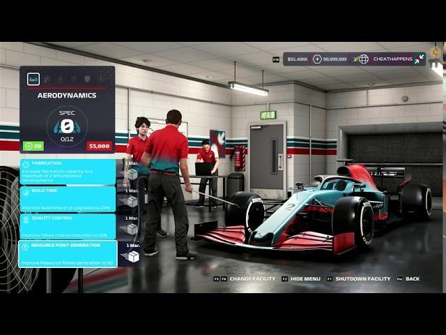 F1 2020 Trainer +12