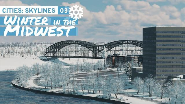 Brownfield Redevelopment - Cities Skylines: Winter in the Midwest 03