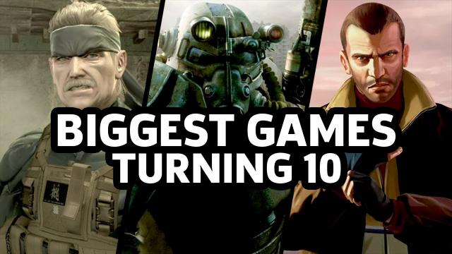 Happy 10th Anniversary to the Biggest Games Of 2008