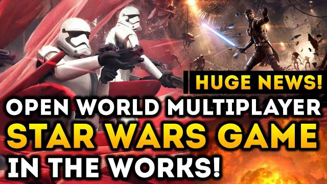 HUGE NEWS! Open World Multiplayer Star Wars Game in The Works at EA Vancouver!