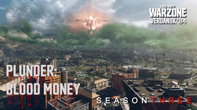 COD Warzone - RANK DIAMOND | PLUNDER: BLOOD MONEY | Video #216