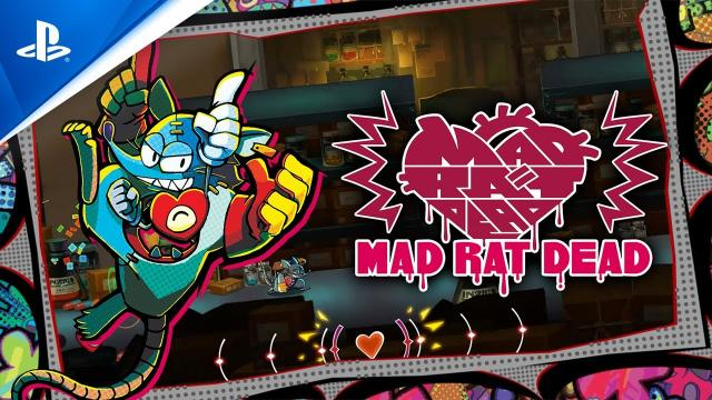Mad Rat Dead - Gameplay Trailer | PS4
