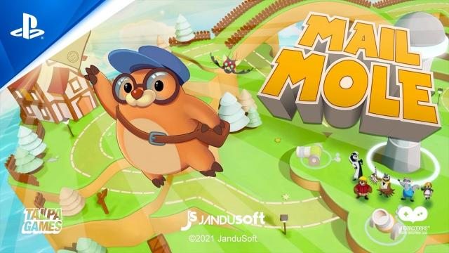 Mail Mole - Launch Trailer | PS4