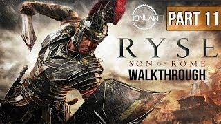 Ryse Son of Rome Walkthrough - Part 11 DAMOCLES - Let's Play Gameplay Commentary [XBOX ONE]
