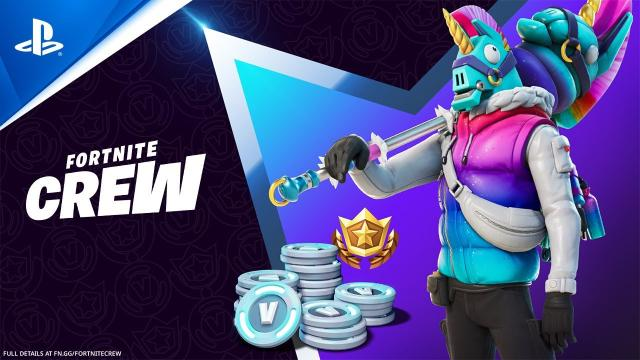 Fortnite - March Crew Pack   PS5, PS4