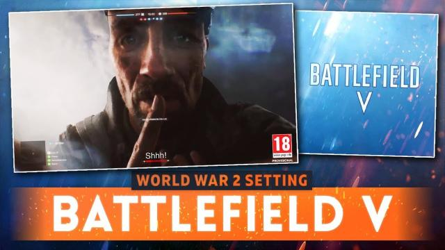 BATTLEFIELD V: World War 2 Setting Confirmed From TEASER TRAILER! (Battlefield 5 Teaser Trailer)