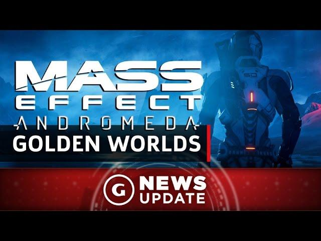 Mass Effect: Andromeda Trailer Shows Off Exotic Worlds - GS News Update