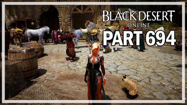 AWAKENED SCROLLS - Dark Knight Let's Play Part 694 - Black Desert Online