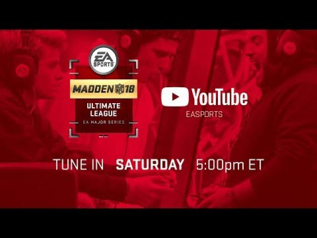 Madden 18 Ultimate League - Week 3 Games