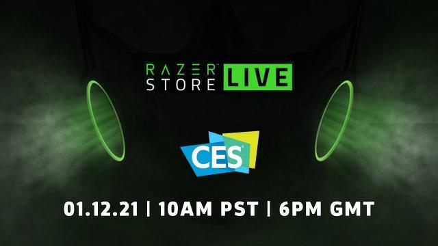 RazerStore CES 2021 Livestream
