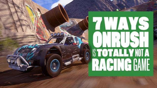 7 Ways OnRush Is Totally Not A Racing Game - New OnRush Gameplay