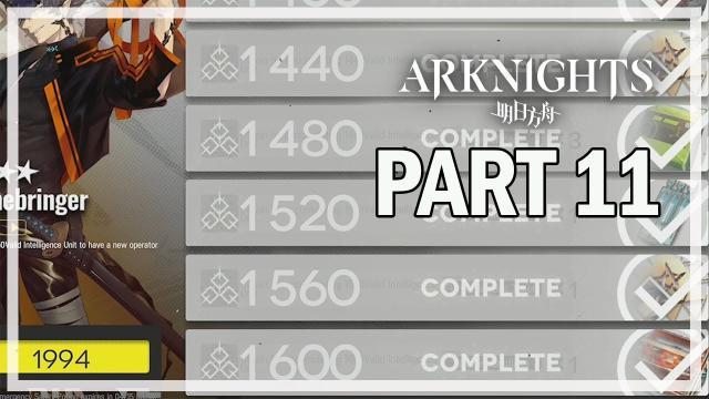 ARKNIGHTS - Let's Play Part 11 - LS-5 & Progress Update